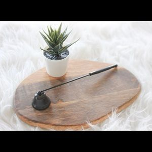 Other - Matte black candle snuffer *NEW*